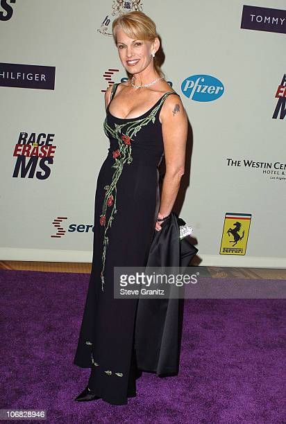 Cyndy Garvey during 12th Annual Race to Erase MS CoChaired by Tommy Hilfiger and Nancy Davis Arrivals at Century Plaza Hotel in Century City...
