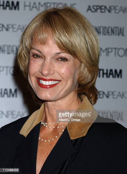 Cyndy Garvey during 2rd Annual Hollywood Bag Ladies Lupus Luncheon Presented by LA Confidential Gotham Magazines at Beverly Hills Hotel in Beverly...