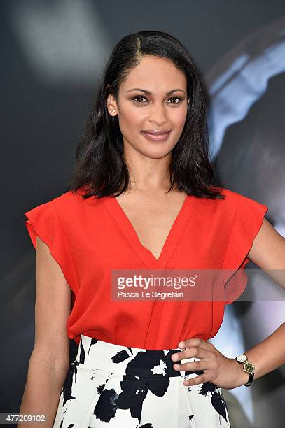 Cynthia Addai Robinson attends a photocall for the Texas Rising TV series on June 15 2015 in MonteCarlo Monaco