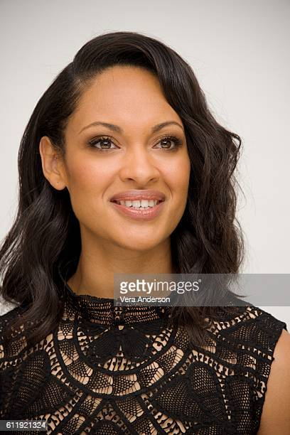 Cynthia AddaiRobinson at The Accountant Press Conference at the Four Seasons Hotel on October 1 2016 in Beverly Hills California