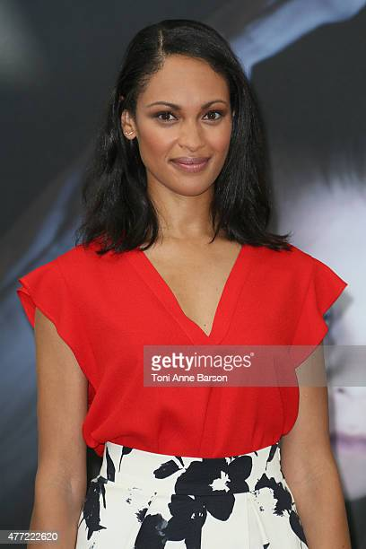 Cynthia AddaiRobinson attends a photocall for the 'Texas Rising' TV series on June 15 2015 in MonteCarlo Monaco
