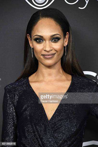 Cynthia AddaiRobinson attends the 18th Annual PostGolden Globes Party hosted by Warner Bros Pictures and InStyle at The Beverly Hilton Hotel on...