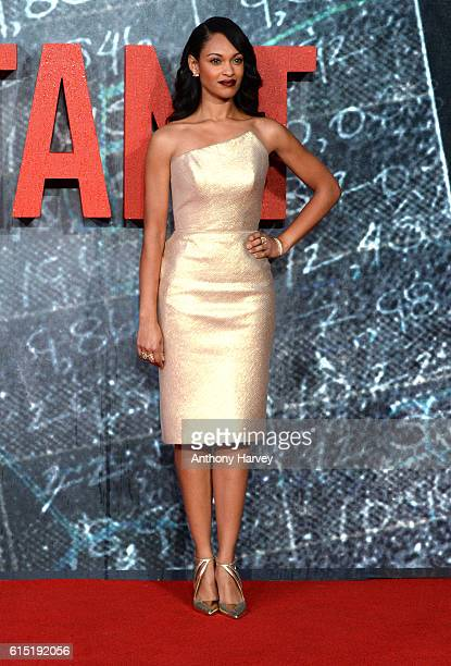 Cynthia AddaiRobinson attends the UK premiere of The Accountant at Cineworld Leicester Square on October 17 2016 in London England