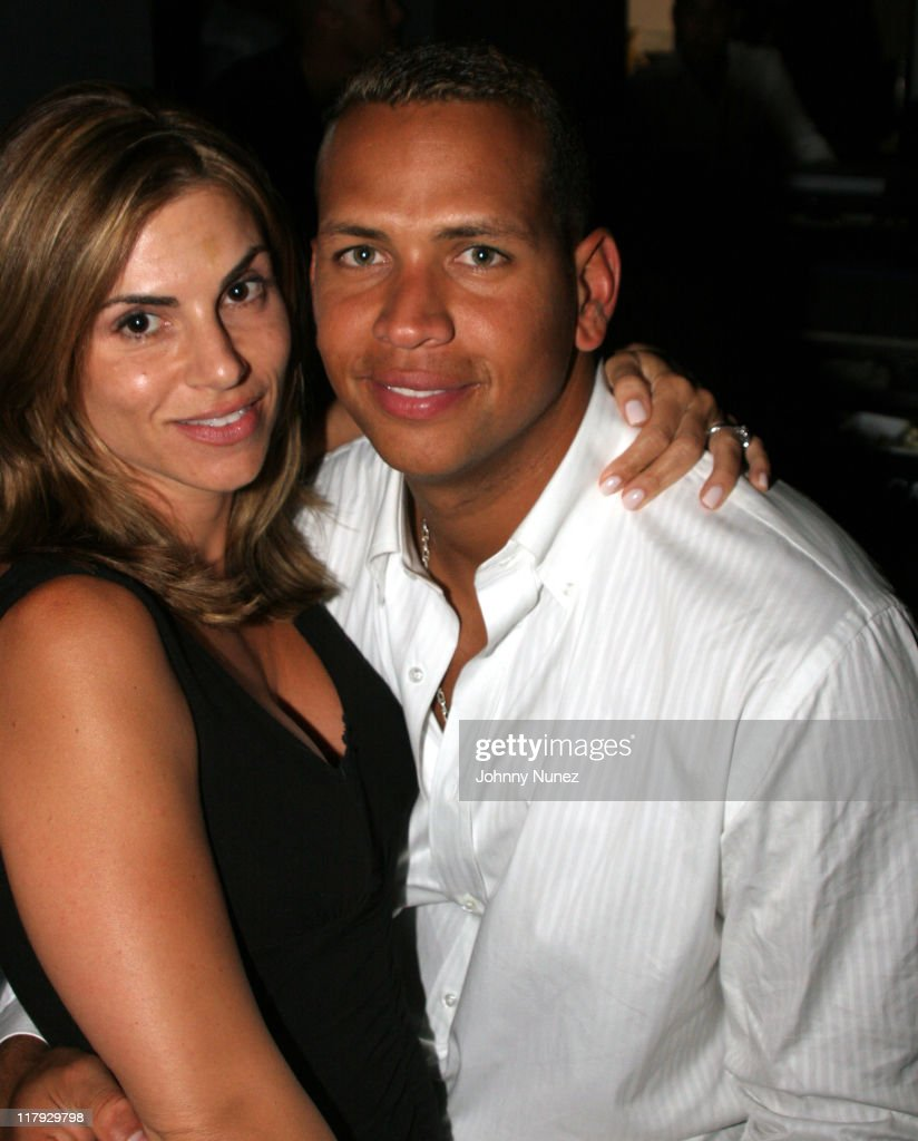 Cynthia And Alex Rodriguez During Alex Rodriguez's