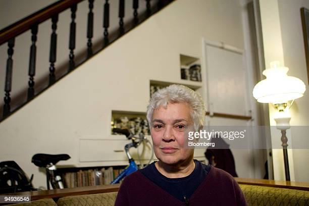 Cynthia Arenson former investor with Bernard Madoff founder of Bernard L Madoff Investment Securities LLC poses for a portrait at her home in the...
