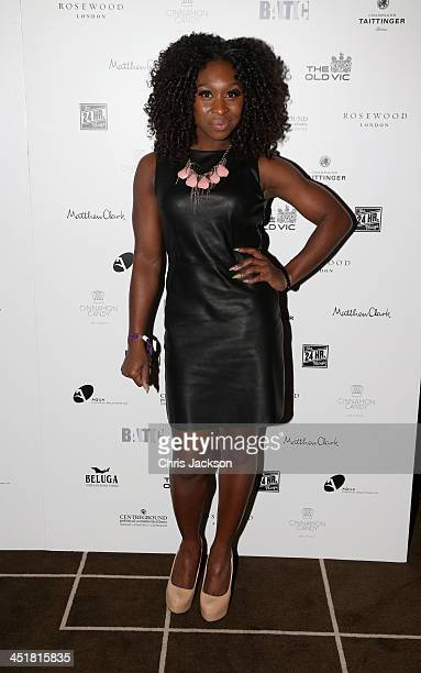 Cynthia Arrivo attends the post show party The 25th Hour following The Old Vic's 24 Hour Celebrity Gala 2013 at Rosewood London on November 24 2013...