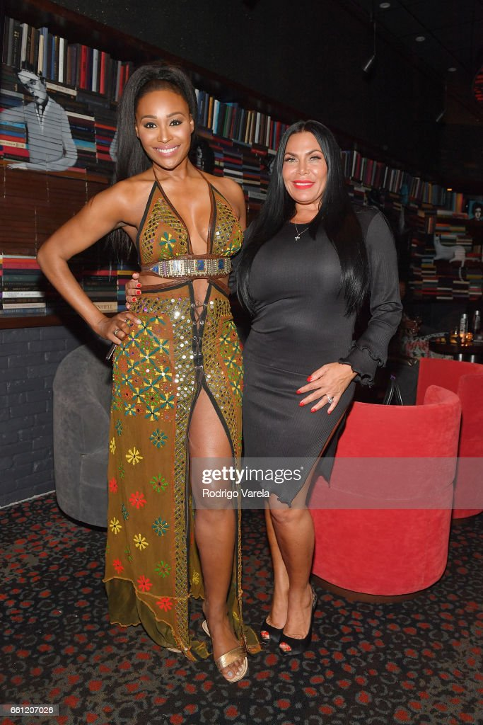 Cynthia Bailey and Renee Graziano attend WE tv's Premiere Party for Their New Show 'Dr. Miami' at the Tuck Room in North Miami Beach on March 30, 2017 in North Miami Beach, Florida.