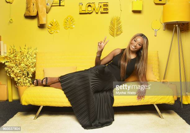 Cynthia Bailey at the 2018 Essence Music Festival Getty Images Portrait Studio on July 6 2018 in New Orleans Louisiana