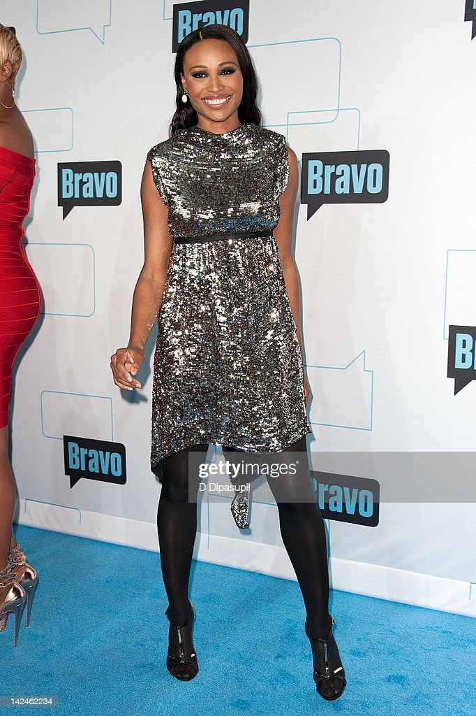 Cynthia Bailey attends Bravo Upfront 2012 at Center 548 on April 4, 2012 in New York City.