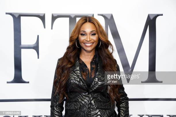 Cynthia Bailey attends FTM Fashion Week S7 at Sturgeon City on November 23 2019 in Jacksonville North Carolina