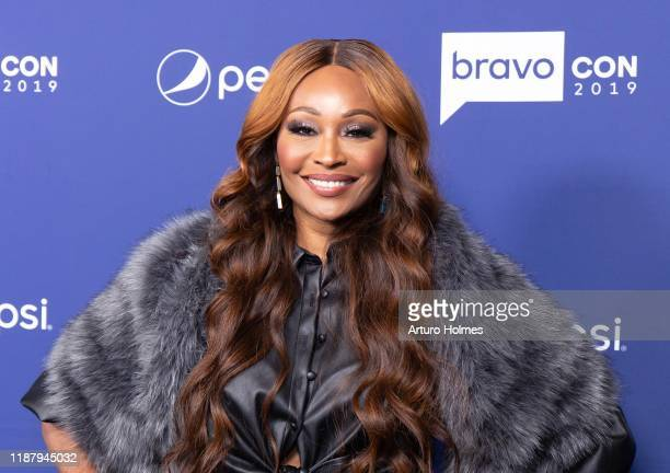 Cynthia Bailey attends opening night of the 2019 BravoCon at Hammerstein Ballroom on November 15 2019 in New York City