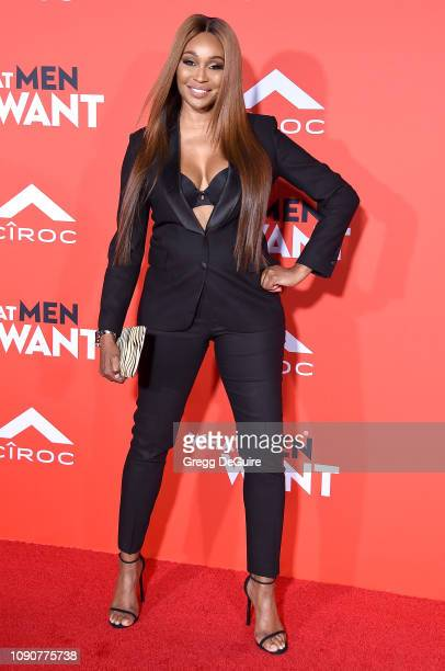 Cynthia Bailey attends Paramount Pictures' What Men Want Premiere at Regency Village Theatre on January 28 2019 in Westwood California