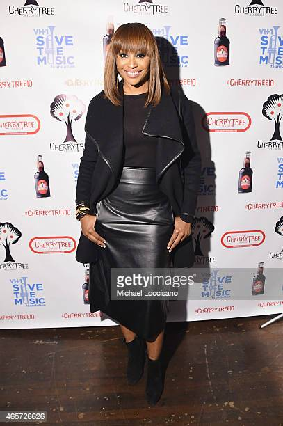 Cynthia Bailey attends the Cherrytree Records 10th Anniversary at Webster Hall on March 9 2015 in New York City