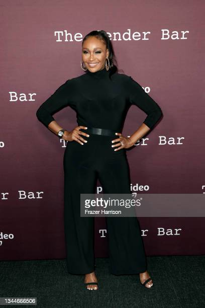 """Cynthia Bailey attends the Los Angeles Premiere of """"The Tender Bar"""" presented by Amazon Studios at DGA Theater Complex on October 03, 2021 in Los..."""