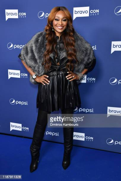 Cynthia Bailey attends the opening night of 2019 BravoCon at Hammerstein Ballroom on November 15 2019 in New York City