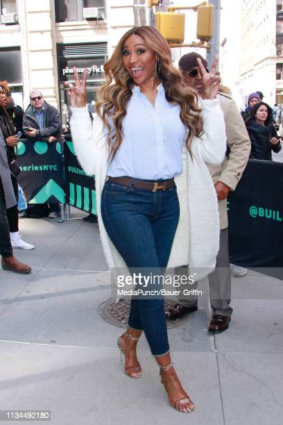 Cynthia Bailey is seen on April 02 2019 in New York City