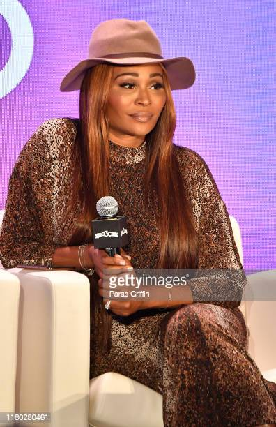 Cynthia Bailey speaks onstage during A3C Festival & Conference at AmericasMart on October 10, 2019 in Atlanta, Georgia.