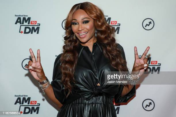 Cynthia Bailey visits BuzzFeed's AM To DM on November 15 2019 in New York City