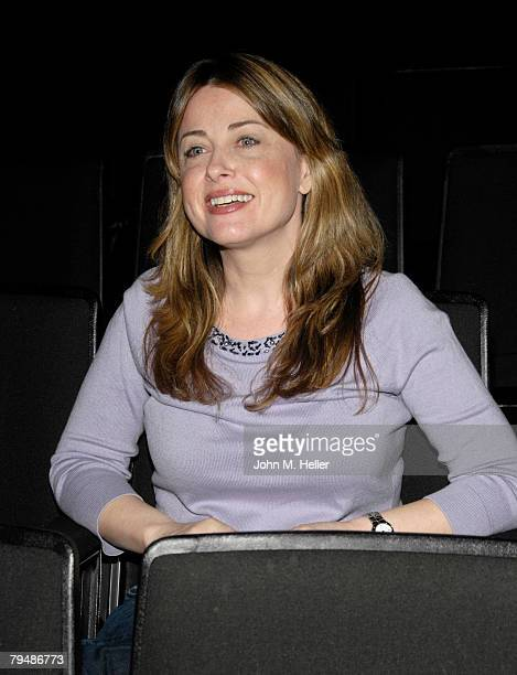 Cynthia Bain attends Deborah Gibson's Camp Electric Youth scholarship auditions at the Howard Fine Acting School on February 2 2008 in Los Angeles...