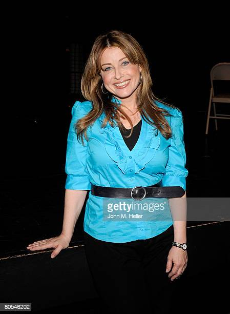 Cynthia Bain attends the Hollywood Camp Electric Youth Auditions at the Howard Fine Studios on April 6 2008 in Hollywood California