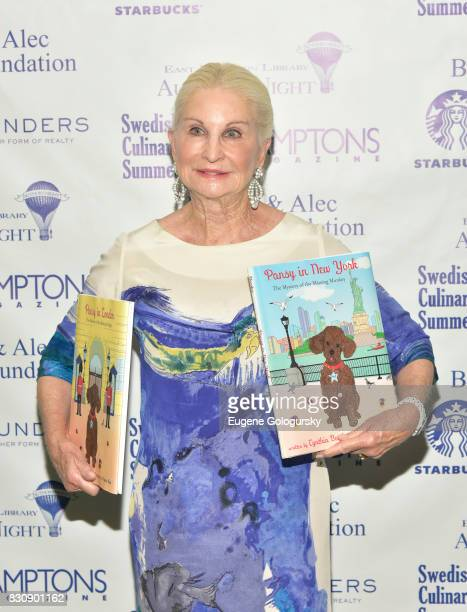 Cynthia Bardes attends Authors Night 2017 At The East Hampton Library at The East Hampton Library on August 12 2017 in East Hampton New York
