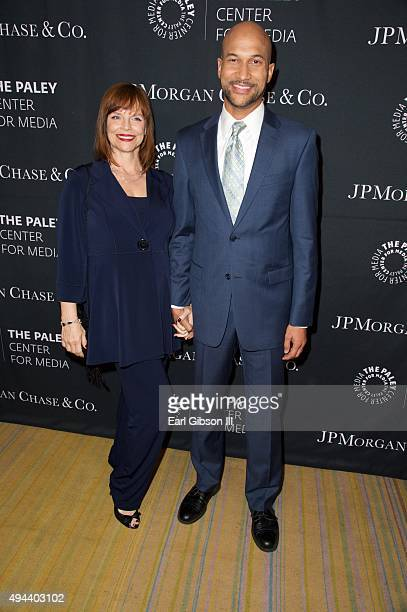 Cynthia Blaise and actor/husband Keegan-Michael Key attend The Paley Center For Media's Tribute To African-American Acheivements In Television at the...
