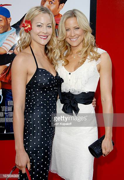 Cynthia Daniel and Brittany Daniel during Little Man Los Angeles Premiere Arrivals at Mann National Theatre in Westwood California United States