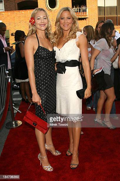 Cynthia Daniel and Brittany Daniel during Little Man Los Angeles Premiere Arrivals at Mann National Theater in Westwood California United States