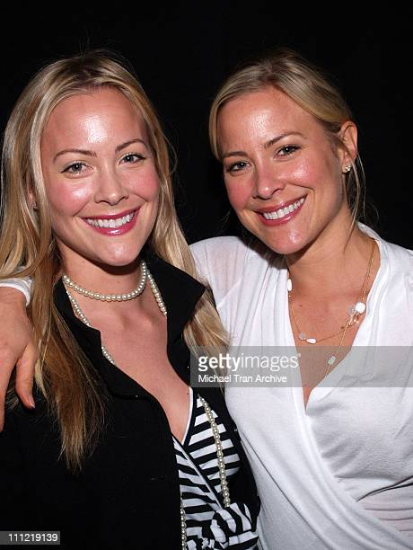 Cynthia Daniel and Brittany Daniel during Loveless in Los Angeles Los Angeles Screening March 7 2006 at The Fine Arts Theatre in Beverly Hills...