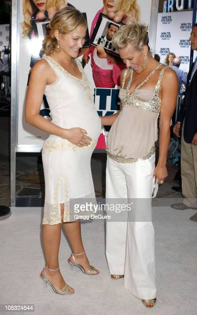 Cynthia Daniel and Brittany Daniel during White Chicks Premiere at Mann Village Theatre in Westwood California United States