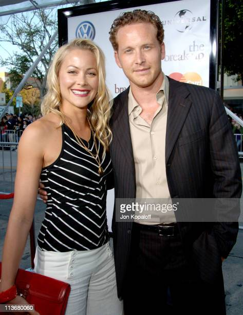 Cynthia Daniel and Cole Hauser during The Break Up Los Angeles Premiere Arrivals at Mann Village Theatre in Westwood California United States