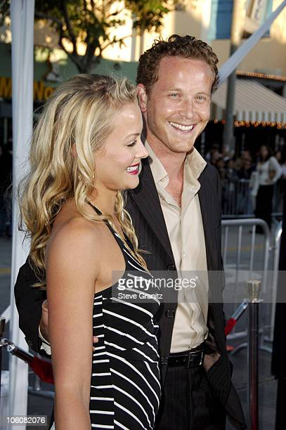 Cynthia Daniel and Cole Hauser during The Break Up Los Angeles Premiere Arrivals in Westwood California United States
