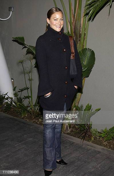 Cynthia Daniel during Eric Balfour and Band in Concert at the GQ Lounge at GQ Lounge at White Lotus in Hollywood California United States