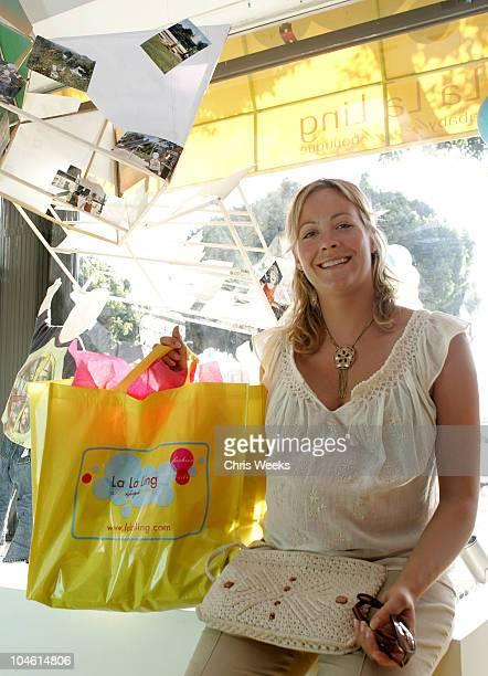 Cynthia Daniel during Grand Opening of La La Ling A Baby Lifestyle Boutique at La La Ling in Los Feliz California United States