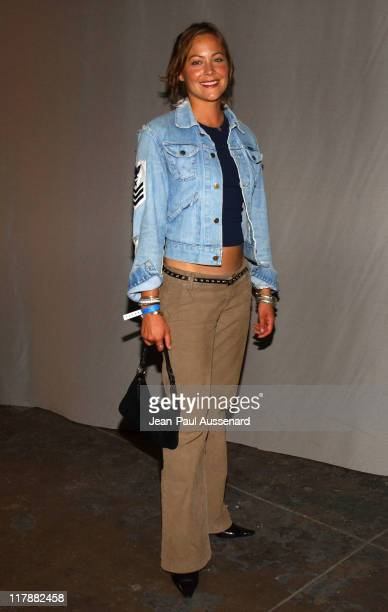 Cynthia Daniel during PlayStation 2 and Mark Wahlberg Host Celebrity Gaming Tournament for Charity Inside at Club Ivar in Hollywood California United...