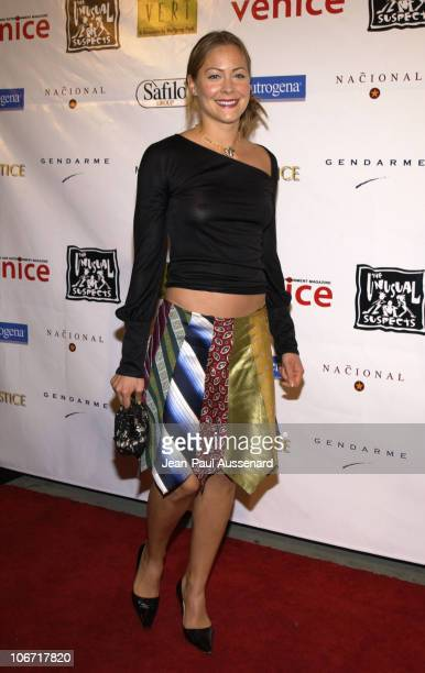 Cynthia Daniel during Unusual Suspects Holiday Benefit Party Sponsored by Venice Magazine and Mediaplacement at Nacional in Hollywood California...