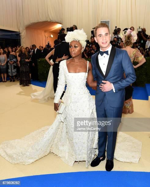 Cynthia Erivo and Ben Platt attend the 'Rei Kawakubo/Comme des Garcons Art Of The InBetween' Costume Institute Gala at Metropolitan Museum of Art on...