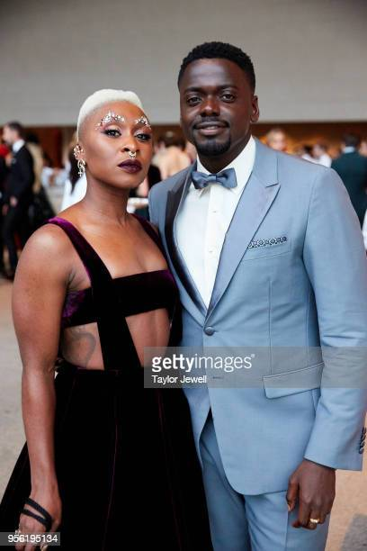 Cynthia Erivo and Daniel Kaluuya attend Heavenly Bodies Fashion The Catholic Imagination Costume Institute Gala at The Metropolitan Museum of Art on...