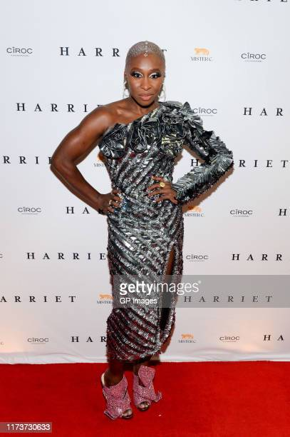 Cynthia Erivo arrives at Harriet World Premiere Party Hosted By CÎROC Vodka at Mister C during the Toronto International Film Festival>> on September...