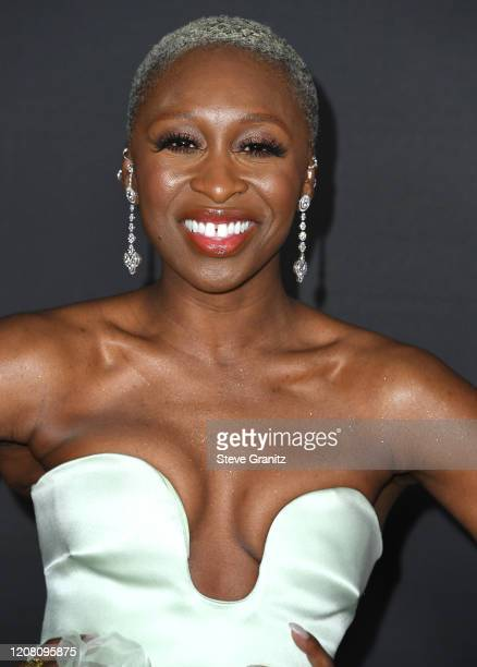Cynthia Erivo arrives at the 51st NAACP Image Awards on February 22 2020 in Pasadena California