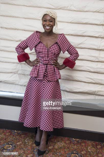 Cynthia Erivo at the Bad Times at the El Royale Press Conference at the Hollywood Roosevelt Hotel on September 23 2018 in Hollywood California