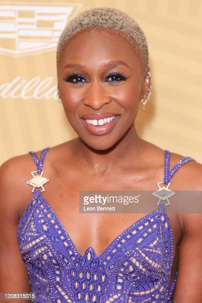 Cynthia Erivo attends American Black Film Festival Honors Awards Ceremony at The Beverly Hilton Hotel on February 23, 2020 in Beverly Hills,...