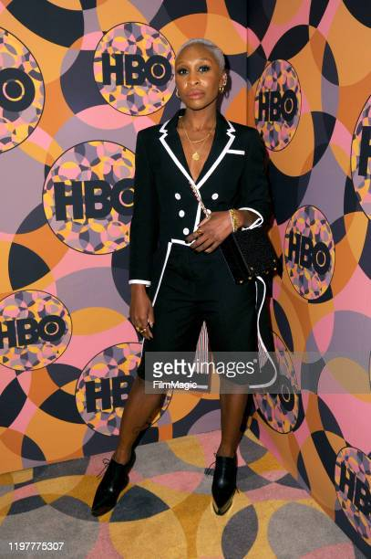 Cynthia Erivo attends HBO's Official 2020 Golden Globe Awards After Party in Los Angeles California