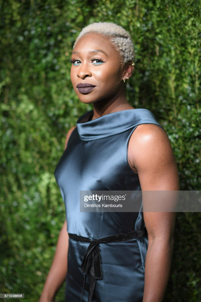 Cynthia Erivo attends the 14th Annual CFDA/Vogue Fashion Fund Awards at Weylin B. Seymour's on November 6, 2017 in the Brooklyn borough of New York City, New York.