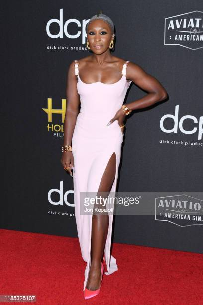 Cynthia Erivo attends the 23rd Annual Hollywood Film Awards at The Beverly Hilton Hotel on November 03 2019 in Beverly Hills California
