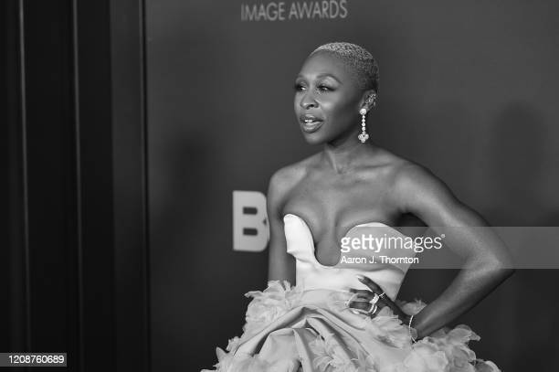 Cynthia Erivo attends the 51st NAACP Image Awards at the Pasadena Civic Auditorium on February 22 2020 in Pasadena California