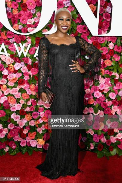 Cynthia Erivo attends the 72nd Annual Tony Awards at Radio City Music Hall on June 10 2018 in New York City