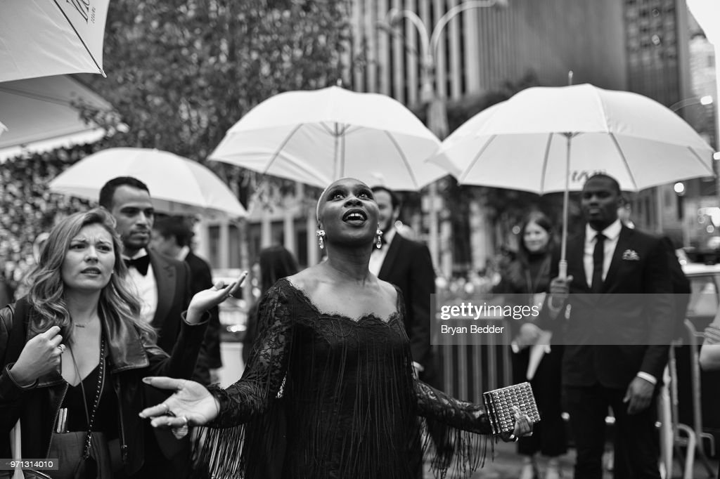 Cynthia Erivo attends the 72nd Annual Tony Awards at Radio City Music Hall on June 10, 2018 in New York City.