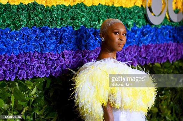 Cynthia Erivo attends the 73rd Annual Tony Awards at Radio City Music Hall on June 09 2019 in New York City