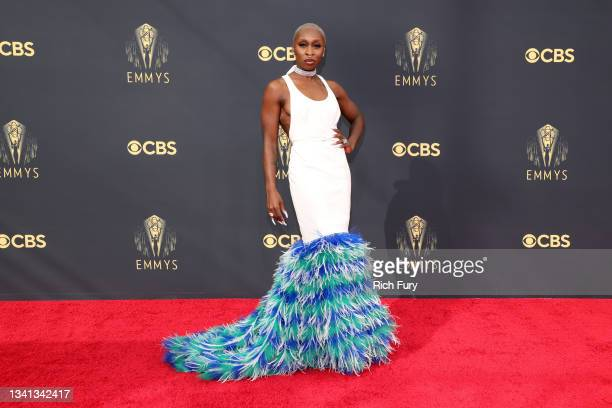 Cynthia Erivo attends the 73rd Primetime Emmy Awards at L.A. LIVE on September 19, 2021 in Los Angeles, California.